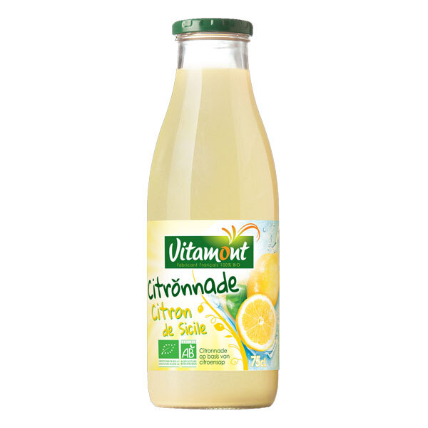 Vitamont - Citronnade Citrons Jaunes Bio 75cL