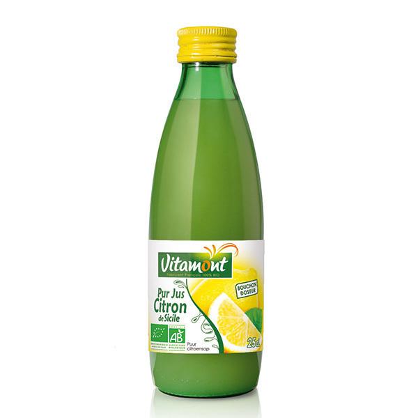 Vitamont - Pur Jus de Citrons Bio 25cL
