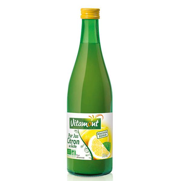Vitamont - Pur Jus de Citrons Bio 50cL