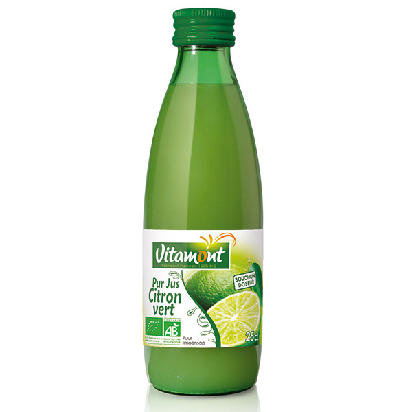 Vitamont - Pur Jus de Citrons Verts Bio 25cL
