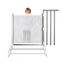 Lascal - The Kiddy Guard Avant, Accent in white (mesh) guard