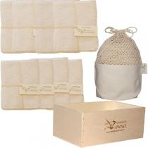 Les Tendances d'Emma - Delux Eco kit wooden box set choice of  2 fabrics