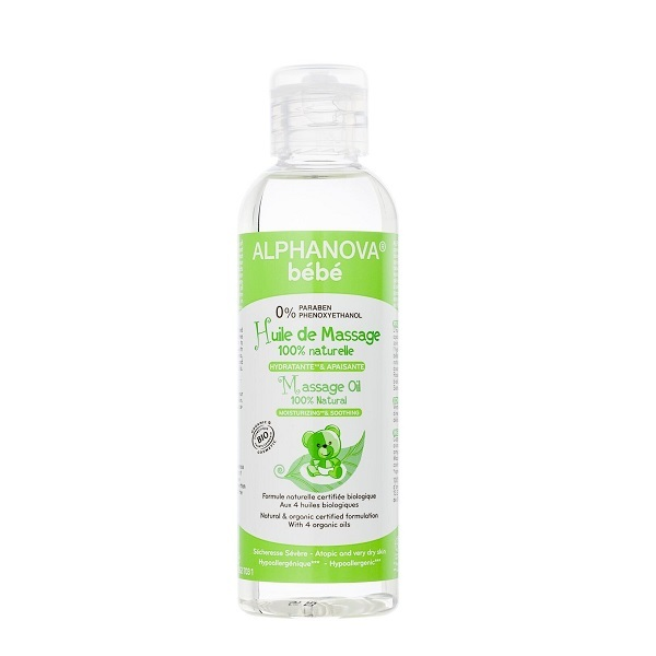 Alphanova - Baby Massage Oil 100ml