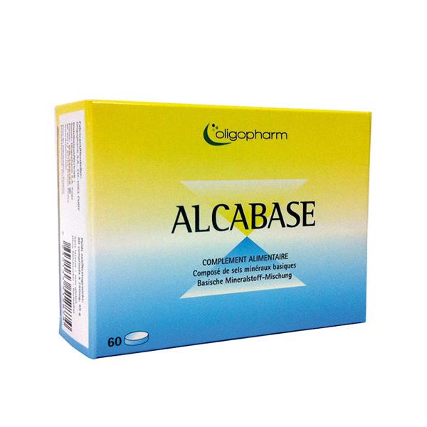 Oligopharm - Alcabase 60 comprimés