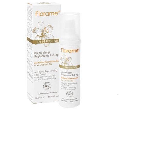 Florame - Crème Visage Régénerante Anti-Âge 50ml