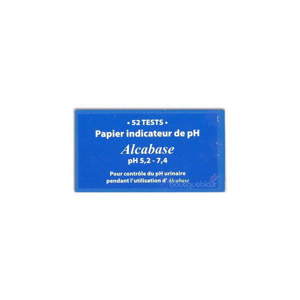 Oligopharm - Alcabase papier indicateur pH