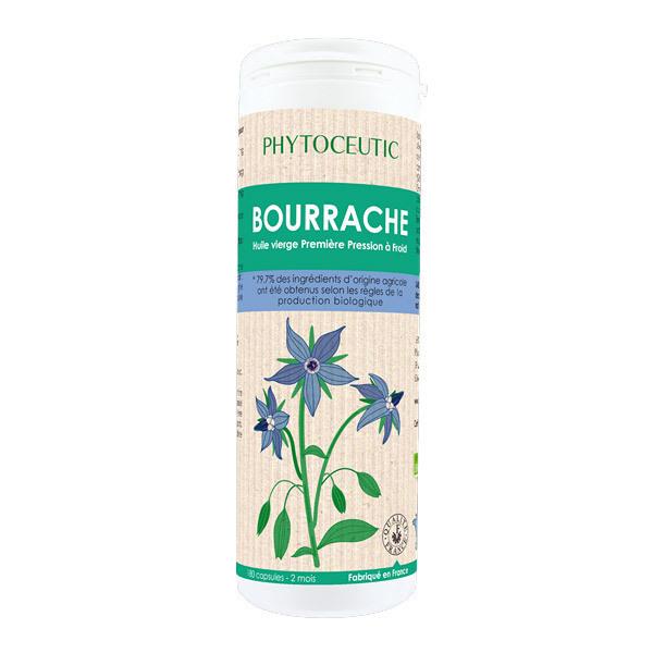 Phytoceutic - Huile de bourrache Bio 180 capsules