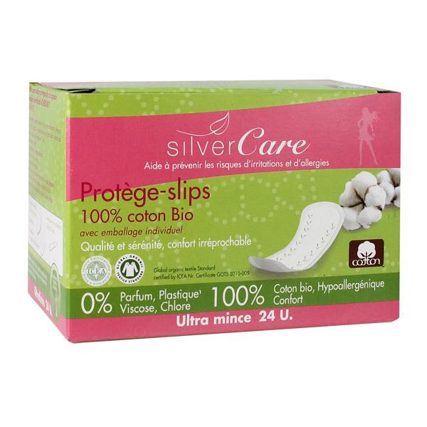 SilverCare - Protège-slips coton bio individuel