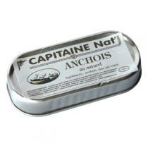 Capitaine Nat - Anchois au naturel 46gr