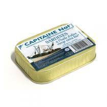 Capitaine Nat - Sardines à l'huile d'olive bio 115g