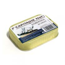 Capitaine Nat - Sardines au Naturel 115gr