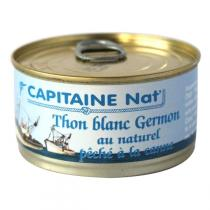 Capitaine Nat - Thon Germon au naturel 200gr