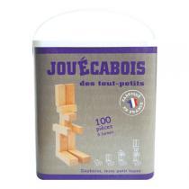 Jouécabois - Gioco di costruzioni 100 pezzi