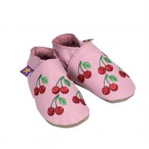 Starchild - Chaussons Cuir Cherrybomb Roses