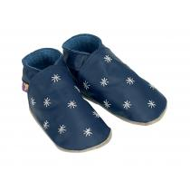 Starchild - Pantofole in cuoio Starchild Starry Night in Navy