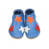 Starchild - Star on blue slippers