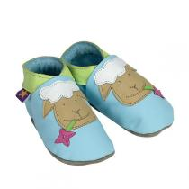 Starchild - Baby Blue Sheep Leather baby shoes