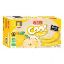 Vitabio - Lot 12 Compotes Pomme Banane