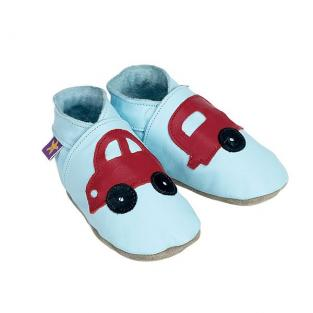 Starchild - Chaussons Cuir Holiday Baby bleu