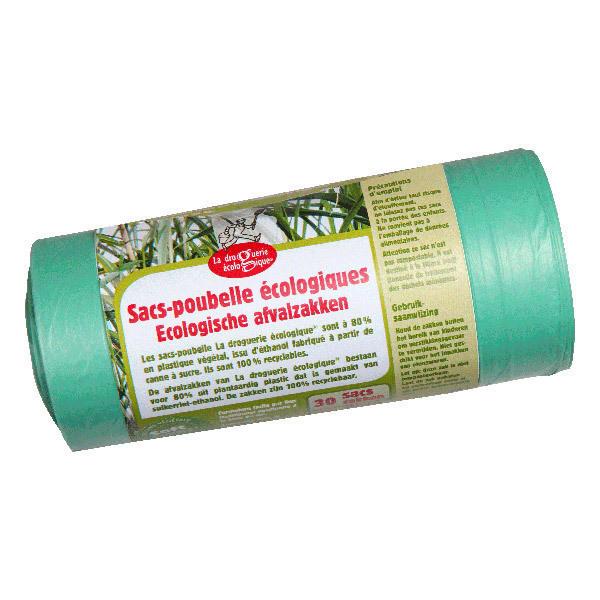 La Droguerie écologique - Sacs Poubelle 30x30 Litres