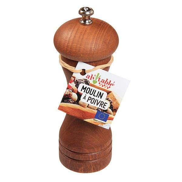Ah! Table! - Moulin à poivre en bois et acier