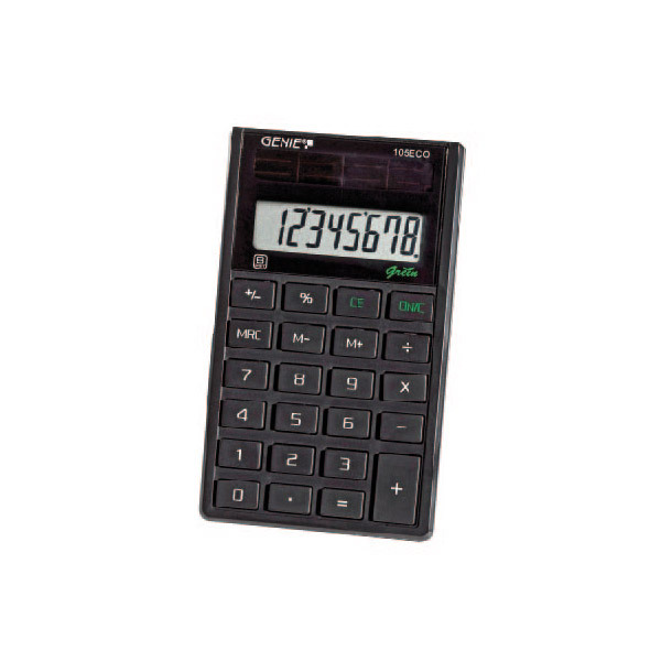 Ecodis - Calcolatrice solare Genie 105