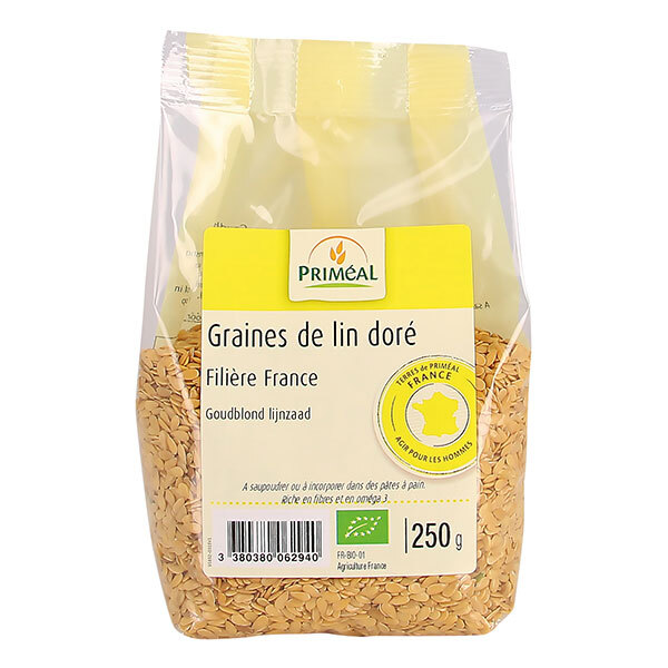 Priméal - Graine de lin doré France 250g