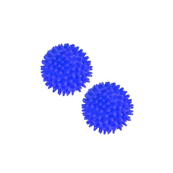 Sissel - Paire de balles de massage hérisson 10cm Bleu