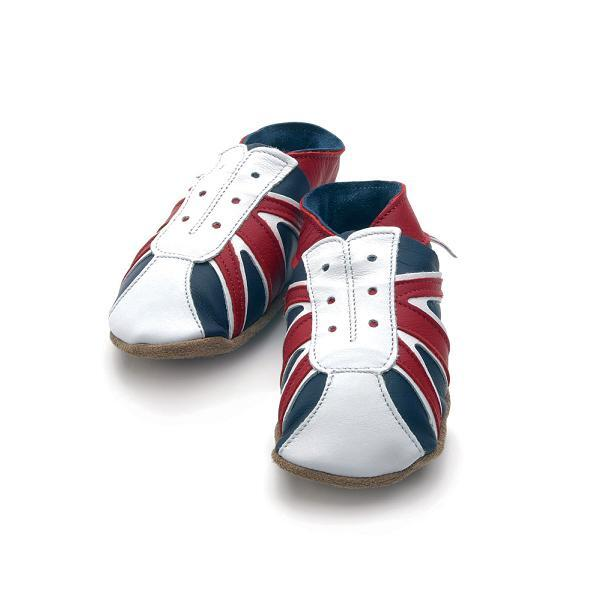 Starchild - Pantofole in pelle English Baby