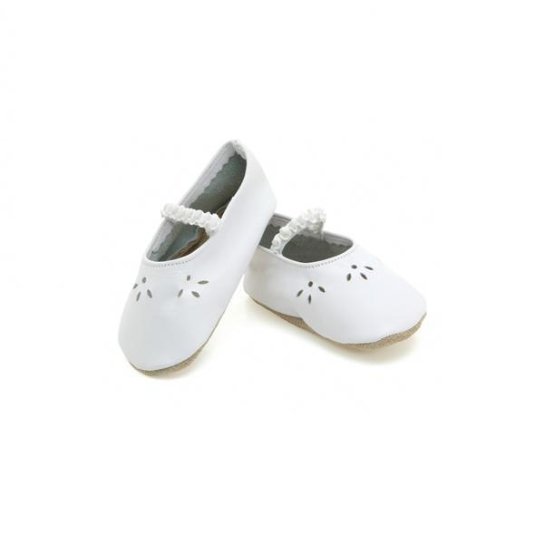 Starchild - Chaussons Cuir Lacey Blanches