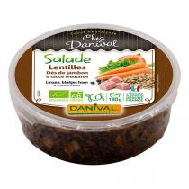 Danival - Salade de lentilles 180g