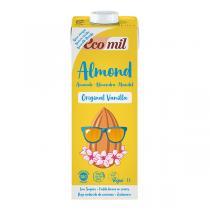 EcoMil - Lait amandes vanille 1L