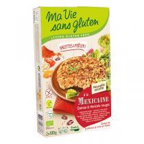 Ma Vie Sans Gluten - Galettes à la Mexicaine quinoa et haricots rouges 2x100g