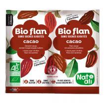Natali - Bioflan chocolat sans sucre 11g