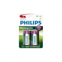 Philips - Rechargeables Batterie HR14 C 3000 mAh