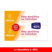 Weleda - Lot de 2 Dentifrices Calendula Bio 75ml