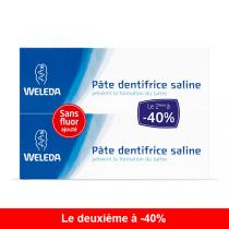 Weleda - Lot de 2 pates dentifrices salines