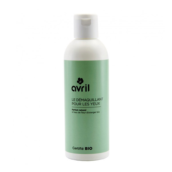 Organic Eye Makeup Remover 200ml Avril Shop Online At Greenweez