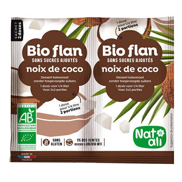 Natali - Bioflan Noix de Coco sans sucre 8g