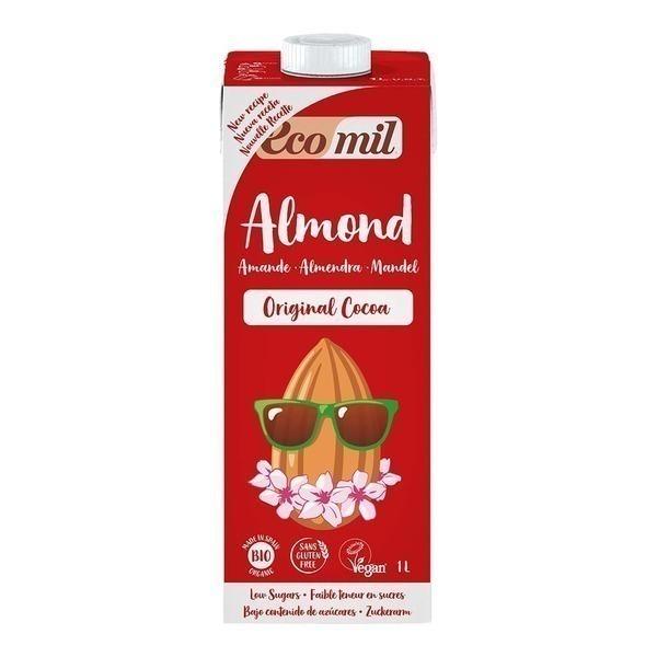EcoMil - Lait amandes cacao 1L