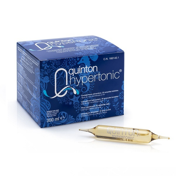 Laboratoires Quinton - Quinton Hypertonic 30 Ampoules