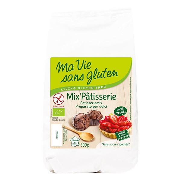 Ma Vie Sans Gluten - Farine Mix Pâtisserie Bio 500g