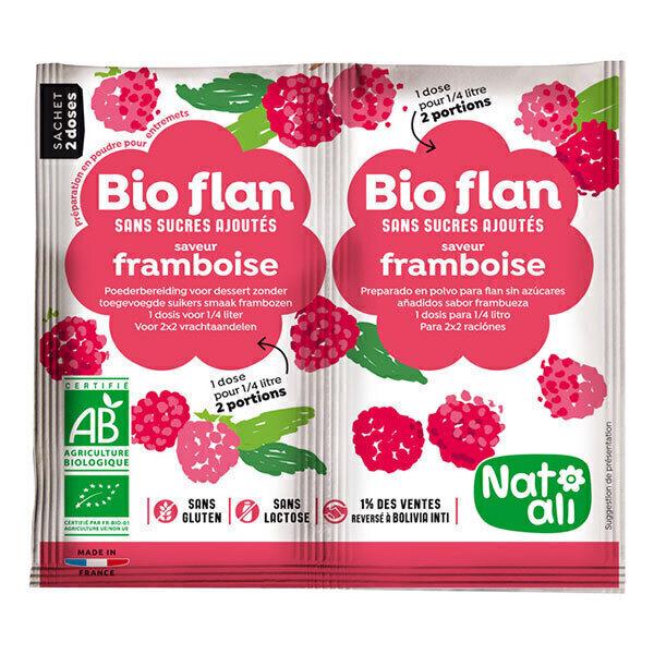 Natali - Bioflan Framboise sans sucre 8g