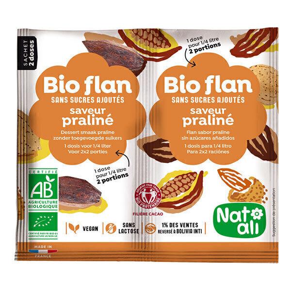Natali - Bioflan Praliné sans sucre 10g
