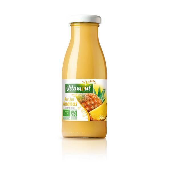 Vitamont - Mini Pur Jus d'Ananas Bio 25cL