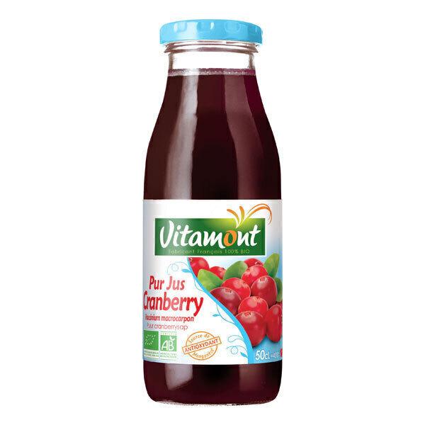 Vitamont - Pur Jus de Cranberry Bio 50cL