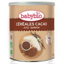 Babybio - Céréales Cacao et Quinoa dès 8 mois, Babybio, 220 gr
