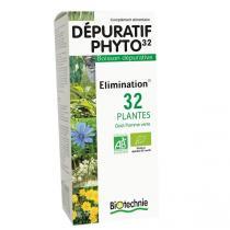 Biotechnie - Dépuratif Phyto 32 Bio Flacon 300mL