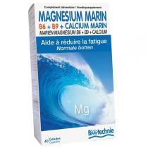 Biotechnie - Magnésium marin B6 40 gélules