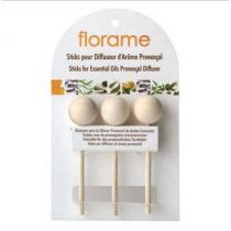 Florame - 3 Sticks for Essential Oil Provencial Diffuser